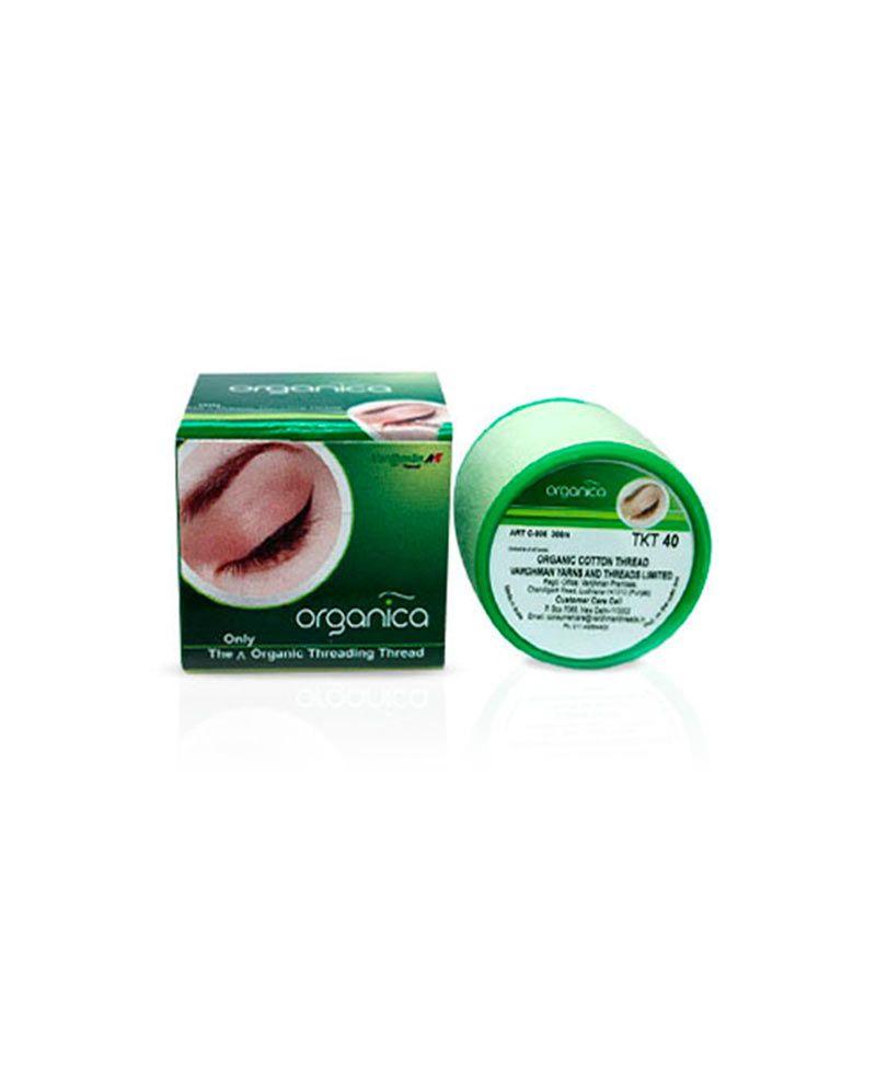 Hilo de algodón orgánico especial para depilación con hilo