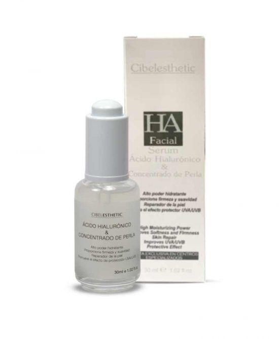 Concentrado de perla y acido hialurónico cibelesthetic