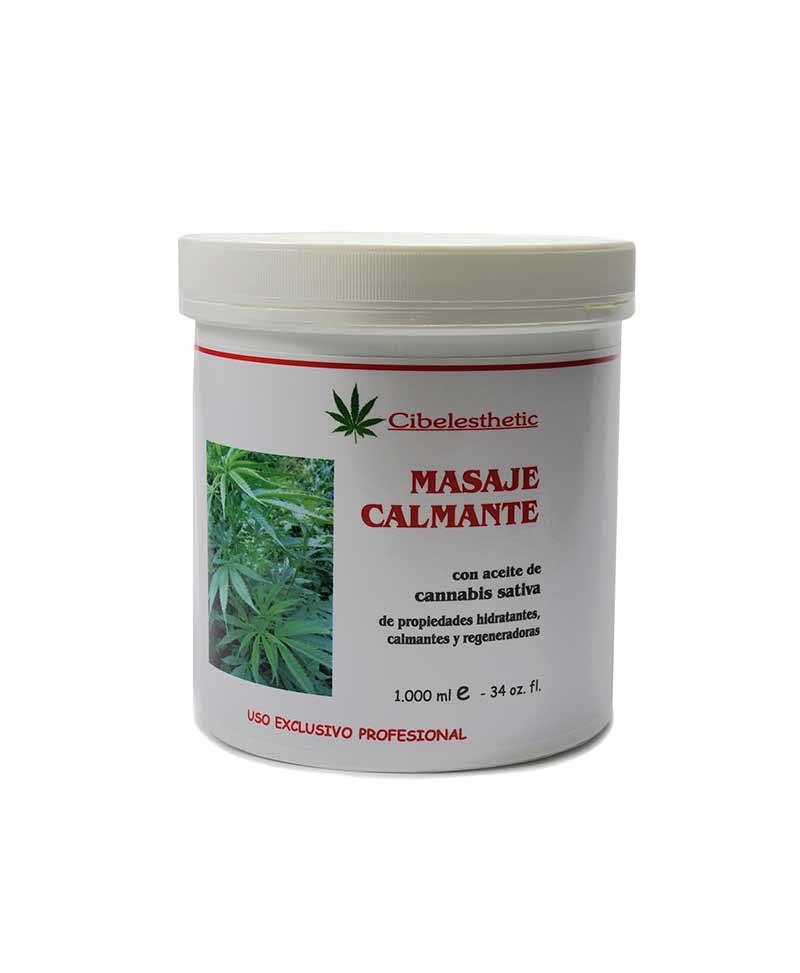 crema ideal para masajes, fisioterapias, con extracto de cannabis para efectos calmantes
