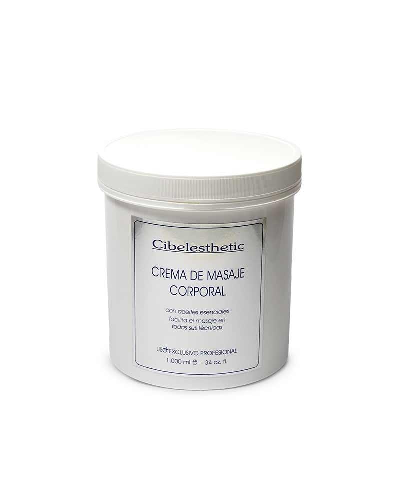 crema ideal para masaje corporal con aceites esenciales facilita el masaje en todas sus técnicas