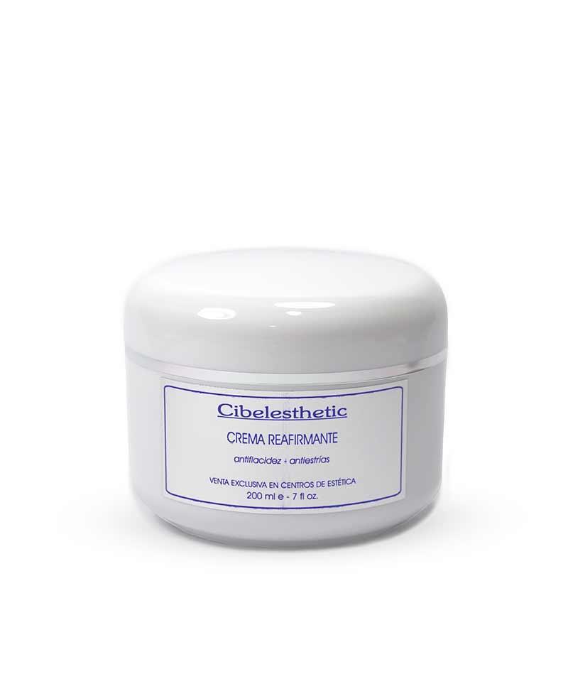 crema corporal con Con Extractos vegetales, reafirma los tejidos y previene la formación de estrías