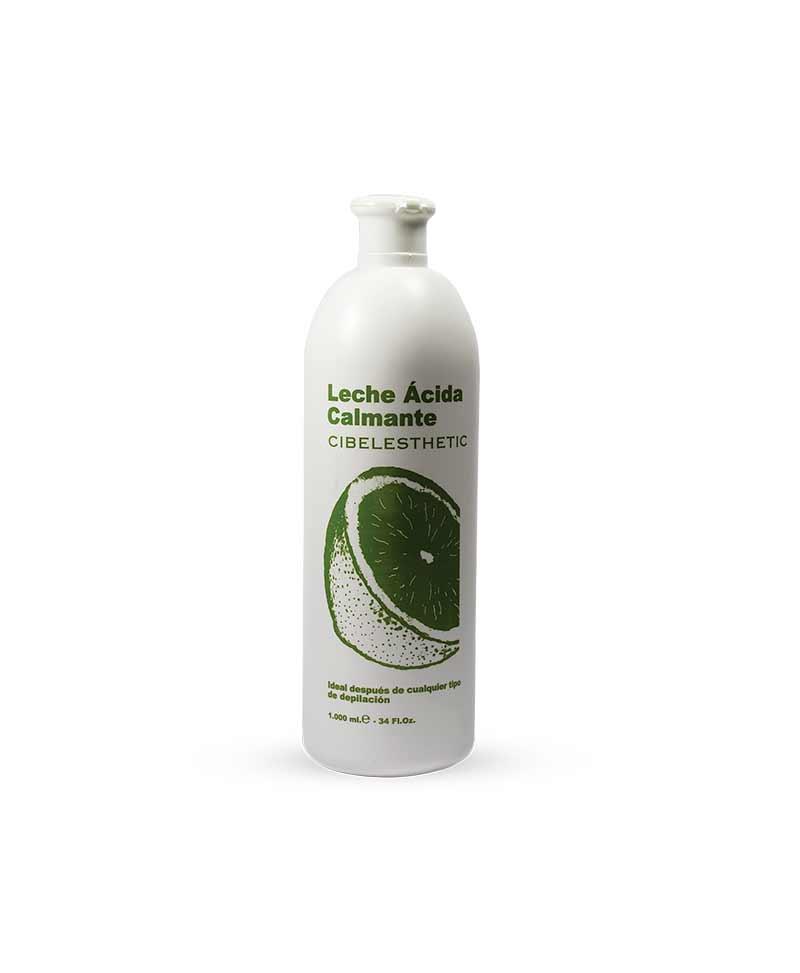 leche acida calmante ideal para utilizar despues de la depilacion marca cibelesthetic