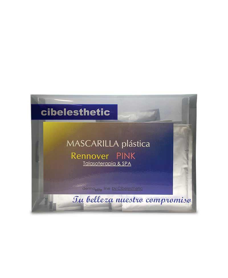 Mascarilla plástica Hidratante Rennover Pink, ideal para Talasoterapia y Spa