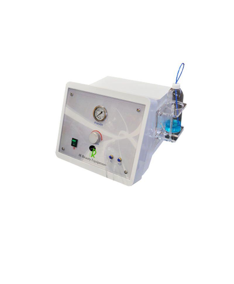 Higiene de cutis con oxígeno. Purifica el aire del ambiente hasta conseguir el nivel de oxígeno correcto para la terapia.