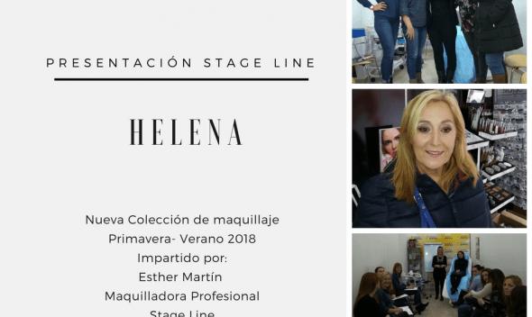 Helena, nueva coleccion de maquillaje Stage Line