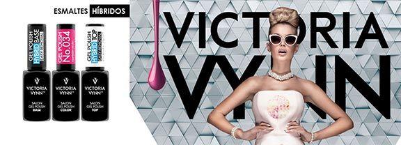 Esmaltes Híbridos - Victoria Vynn