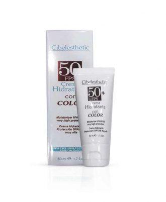 Crema Hidratante con protección solar - Nueva Cibelesthetic