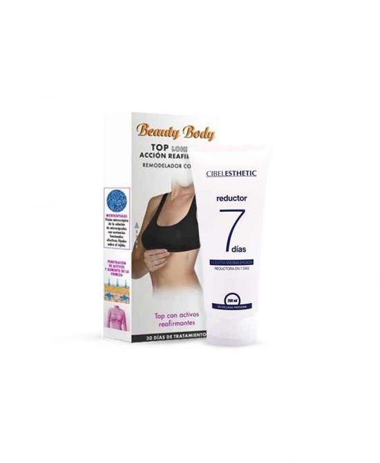pack reafirmante 7 dias top reafirmante y crema reductora