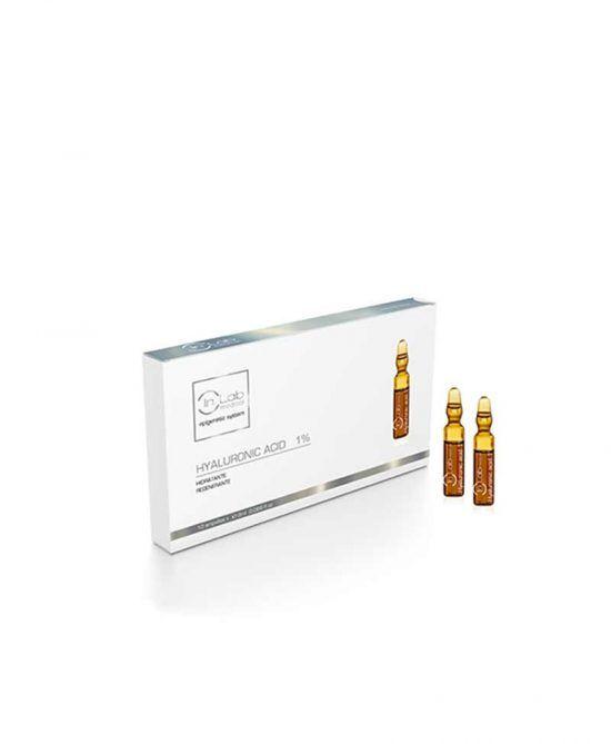 Ácido Hialurónico 1% en ampollas Inlab Medical tratamientos faciales