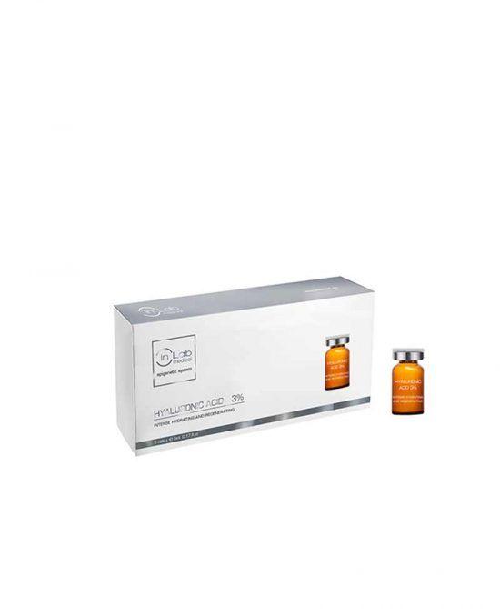 Ácido Hialuronico 3% Ampollas faciales Inlab Medical