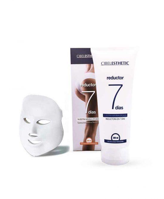 Crema 7 Días 200ml + Máscara Led de Regalo