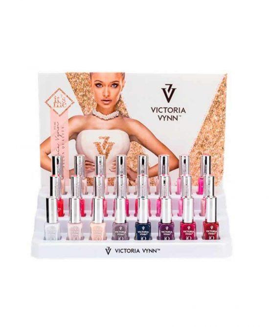Esmaltes Híbridos Veganos Victoria Vynn - Expositor 24uds.