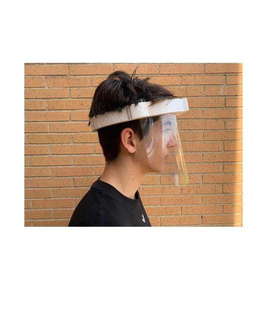 Pantalla para protección Facial transparente - Pack 12 uds.