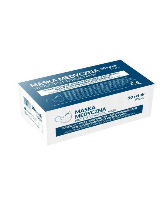 Mascarillas Quirúrgicas Desechables 3 Capas - Caja de 50 Uds.