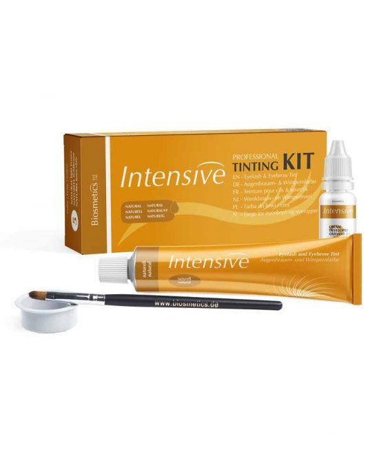 Kit mini para Tinte de Pestañas y Cejas - Marrón Medio