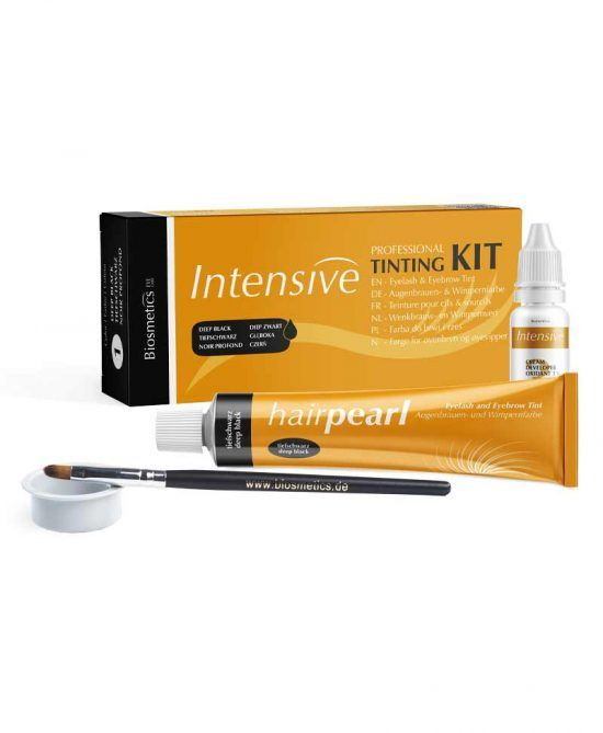 Kit mini para Tinte de Pestañas y Cejas - Negro
